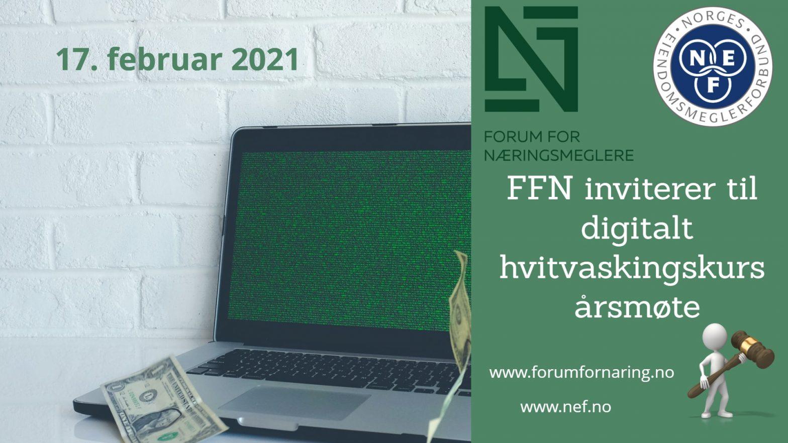 Årsmøte og kurs i Forum for Næringsmeglere